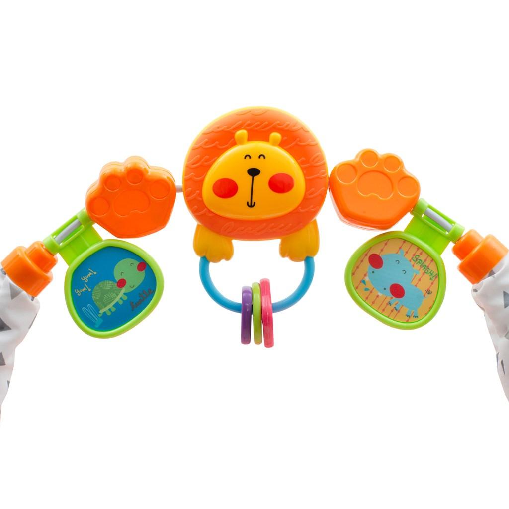 Dětské chodítko se silikonovými kolečky New Baby Forest Kingdom