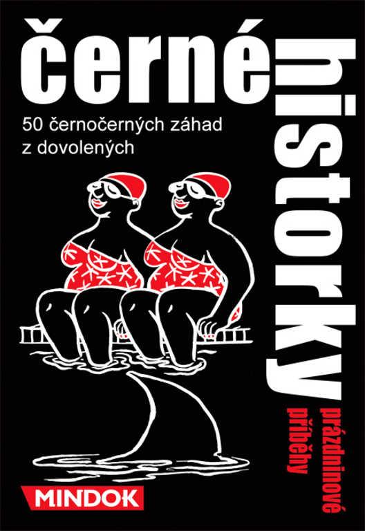 MINDOK HRA Černé historky - Prázdninové příběhy *SPOLEČENSKÉ HRY*