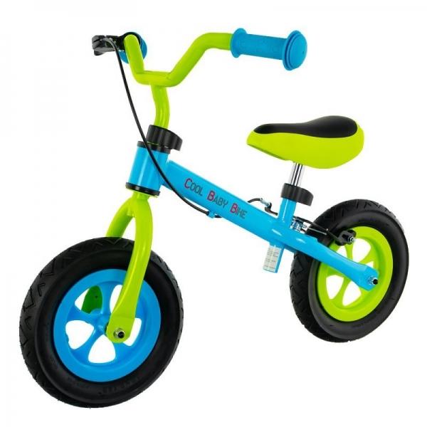 """Euro Baby Dětské odrážedlo, kolo Cool Air Baby - zeleno/modré, kola 10"""""""