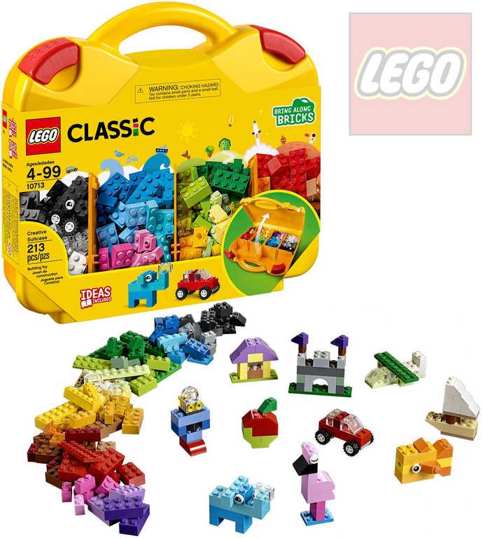 LEGO CLASSIC Kreativní kufřík STAVEBNICE 10713
