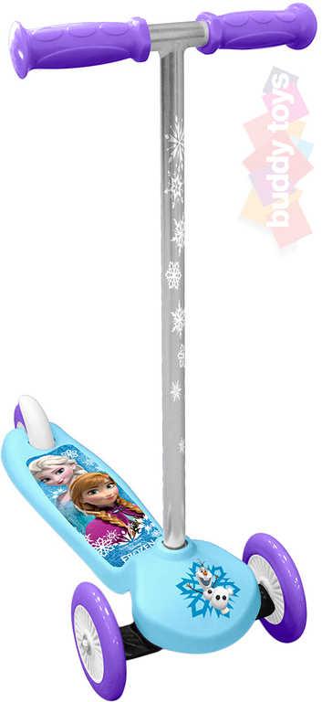 BUDDY TOYS Koloběžka Frozen (Ledové Království) 3 kolečka kloubové řízení