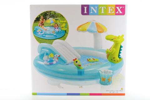 INTEX Hrací centrum (bazén) s krokodýlem 57129