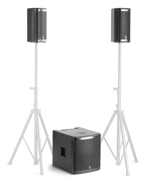 Stagg SWS2800D21B-0, zvukový systém