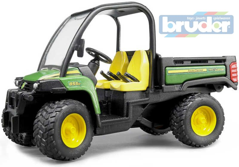 BRUDER 02491 (2491) John Deere Gator XUV 855D PLAST