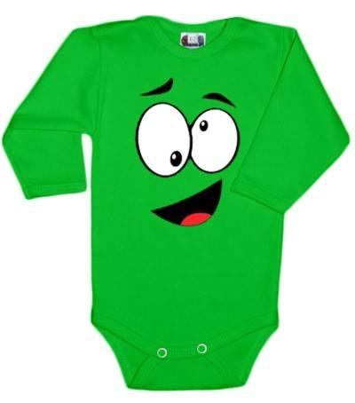 dejna-vel-dejna-body-dlouhy-rukav-s-tvari-zelene-vel-86-86-12-18m