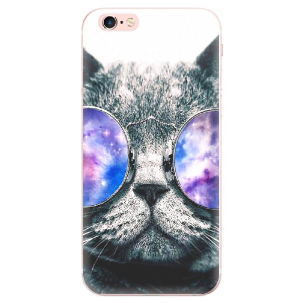 Odolné silikonové pouzdro iSaprio - Galaxy Cat - iPhone 6 Plus/6S Plus