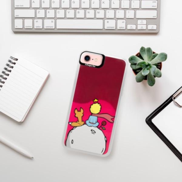 Neonové pouzdro Pink iSaprio - Prince - iPhone 7