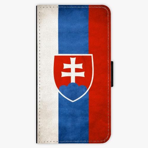Flipové pouzdro iSaprio - Slovakia Flag - Samsung Galaxy S7