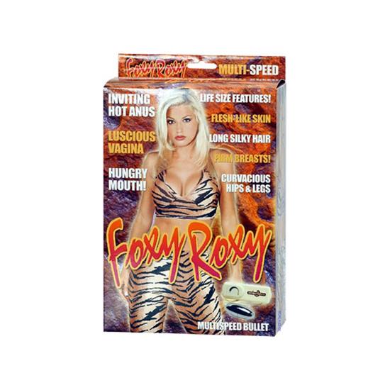 Vibrační nafukovací panna - Foxy Roxy