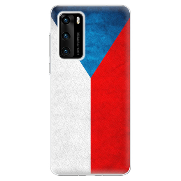 Plastové pouzdro iSaprio - Czech Flag - Huawei P40