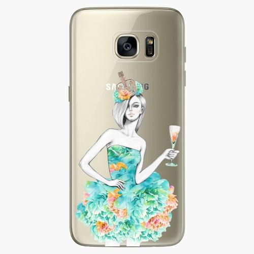 Plastový kryt iSaprio - Queen of Parties - Samsung Galaxy S7