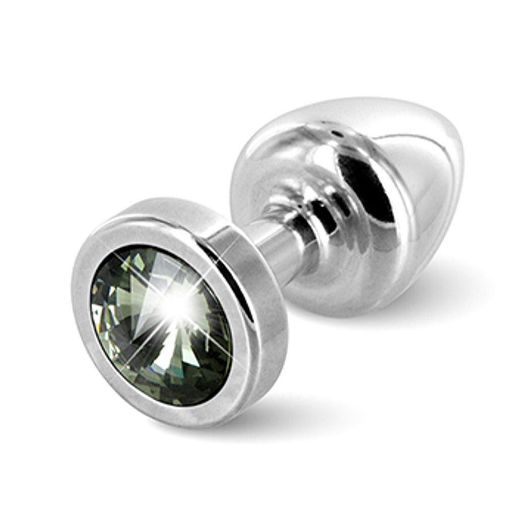 Diogol - Anni Butt Plug Round Silver