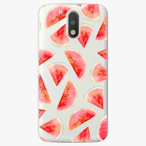 Plastový kryt iSaprio - Melon Pattern 02 - Lenovo Moto G4 / G4 Plus
