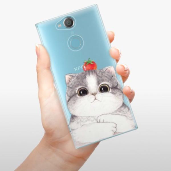 Plastové pouzdro iSaprio - Cat 03 - Sony Xperia XA2