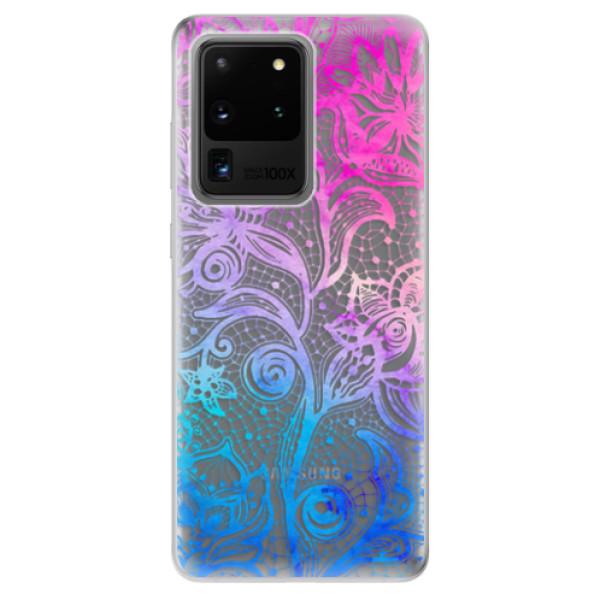 Odolné silikonové pouzdro iSaprio - Color Lace - Samsung Galaxy S20 Ultra