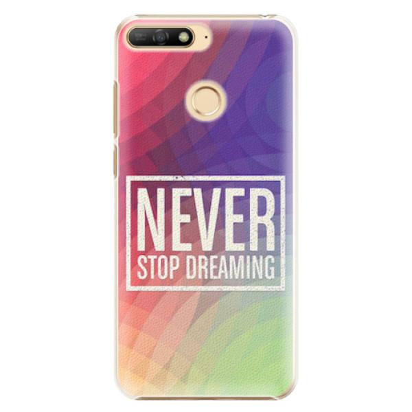 Plastové pouzdro iSaprio - Dreaming - Huawei Y6 Prime 2018