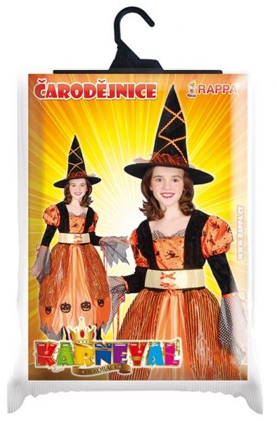 Karnevalový kostým čarodějnice/halloween, vel. S