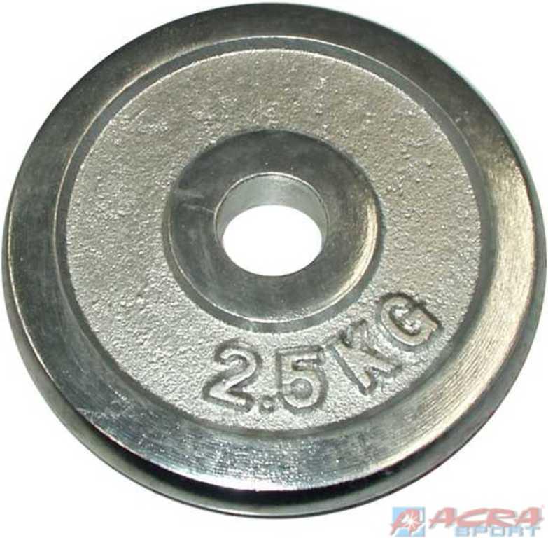 ACRA Kotouč náhradní 2,5 kg CHROM