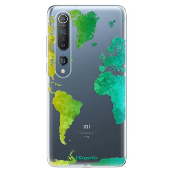 Odolné silikonové pouzdro iSaprio - Cold Map - Xiaomi Mi 10 / Mi 10 Pro