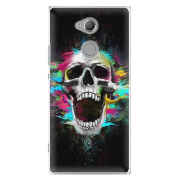 Plastové pouzdro iSaprio - Skull in Colors - Sony Xperia XA2 Ultra