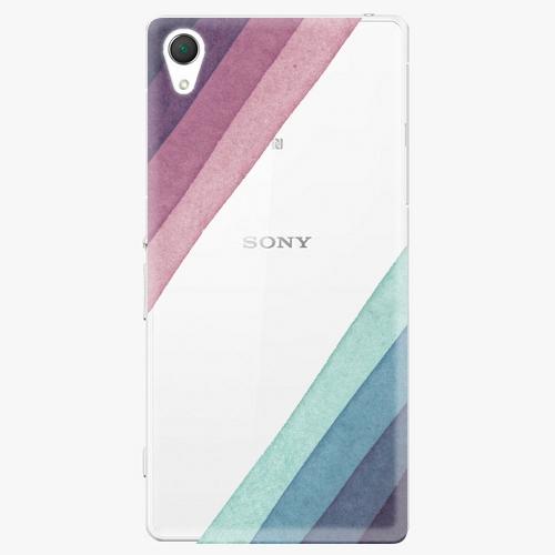 Plastový kryt iSaprio - Glitter Stripes 01 - Sony Xperia Z2