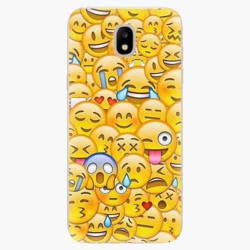 Silikonové pouzdro iSaprio - Emoji - Samsung Galaxy J5 2017