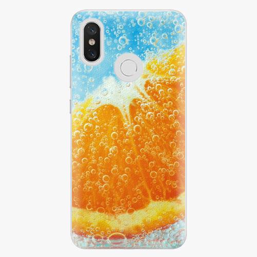 Plastový kryt iSaprio - Orange Water - Xiaomi Mi 8