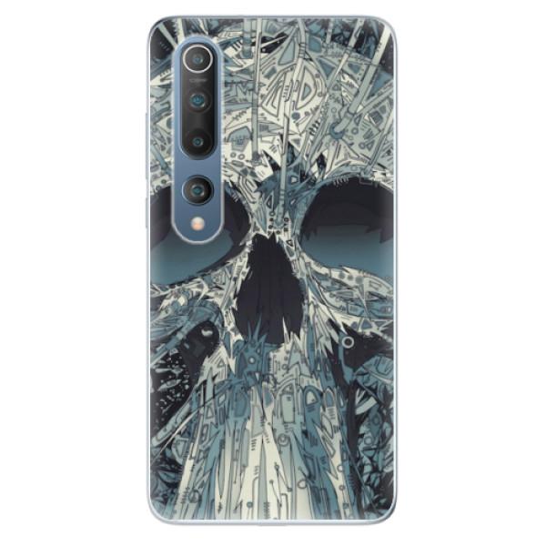 Odolné silikonové pouzdro iSaprio - Abstract Skull - Xiaomi Mi 10 / Mi 10 Pro