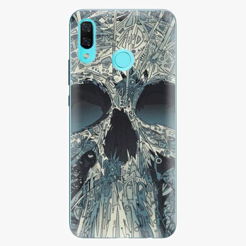 Plastový kryt iSaprio - Abstract Skull - Huawei Nova 3