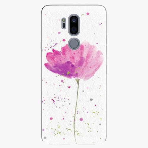 Plastový kryt iSaprio - Poppies - LG G7