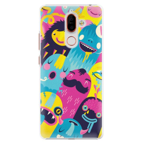 Plastové pouzdro iSaprio - Monsters - Nokia 7 Plus