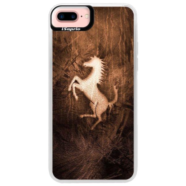 Neonové pouzdro Pink iSaprio - Vintage Horse - iPhone 7 Plus