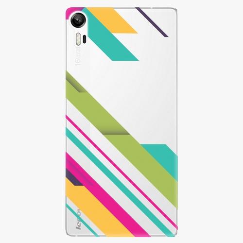 Plastový kryt iSaprio - Color Stripes 03 - Lenovo Vibe Shot