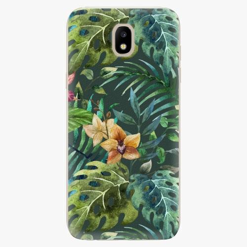 Silikonové pouzdro iSaprio - Tropical Green 02 - Samsung Galaxy J5 2017
