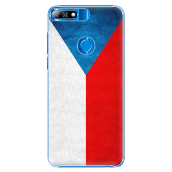 Plastové pouzdro iSaprio - Czech Flag - Huawei Y7 Prime 2018