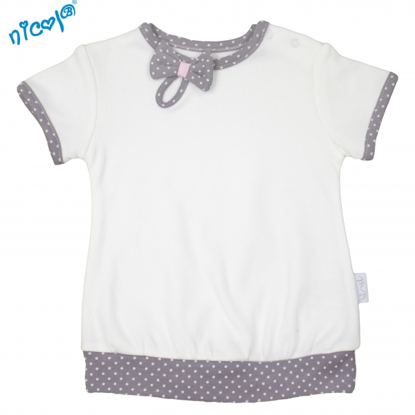 Bavlněné tričko Nicol, Paula - krátký rukáv