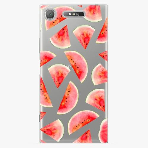 Plastový kryt iSaprio - Melon Pattern 02 - Sony Xperia XZ1