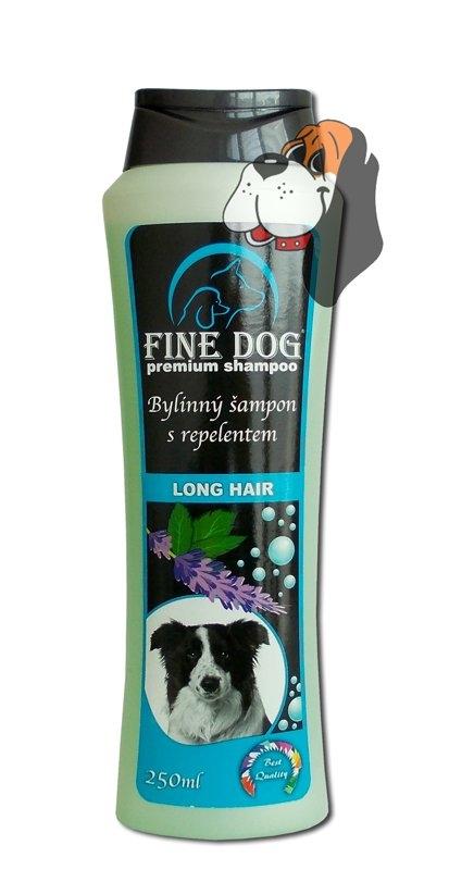 Long Hair bylinný šampón s repelentem 250 ml