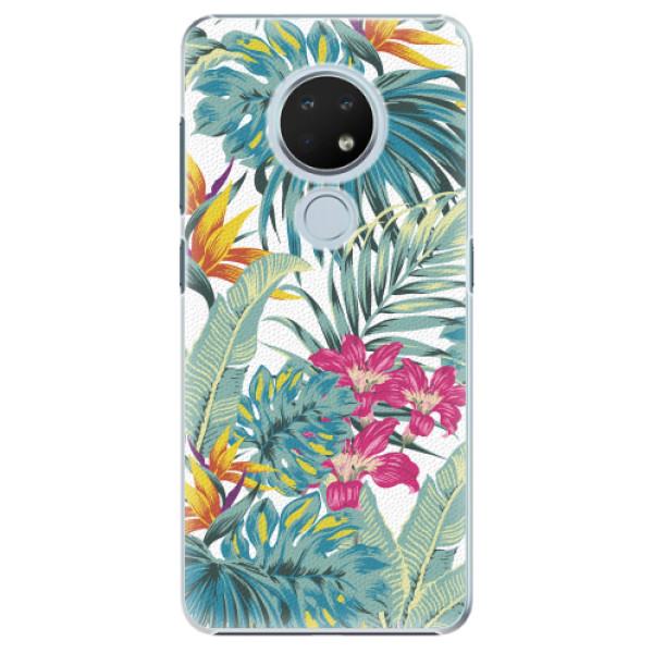 Plastové pouzdro iSaprio - Tropical White 03 - Nokia 6.2