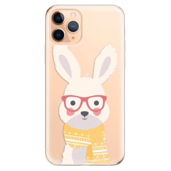 Odolné silikonové pouzdro iSaprio - Smart Rabbit - iPhone 11 Pro