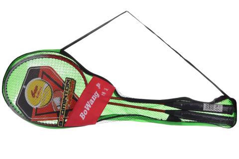 Badmintonové pálky v síťce