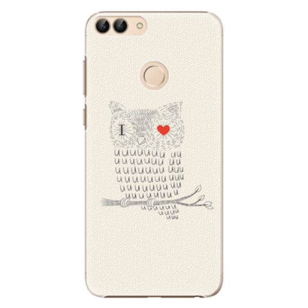 Plastové pouzdro iSaprio - I Love You 01 - Huawei P Smart