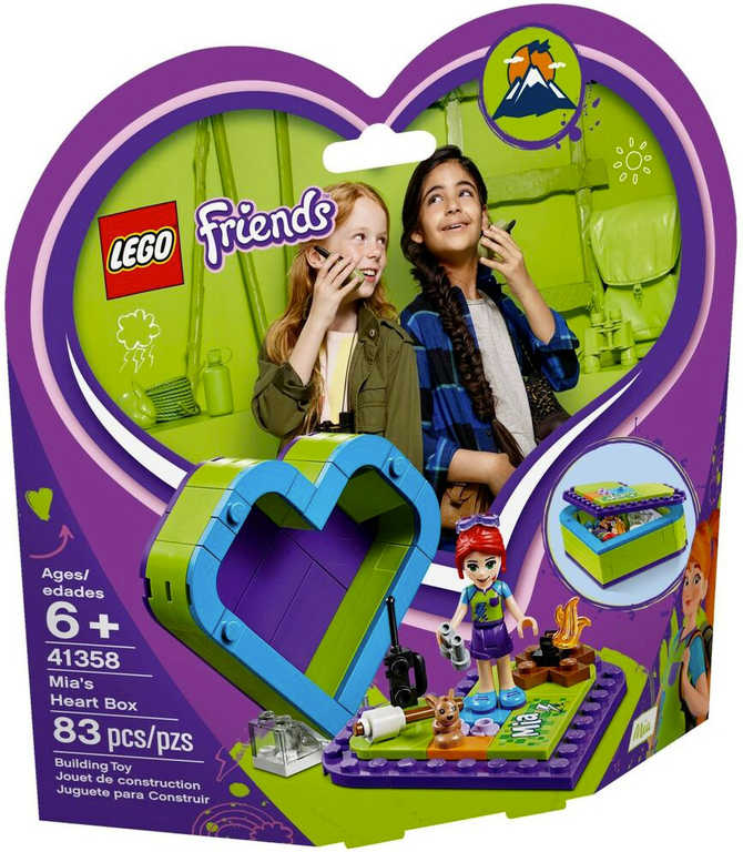 LEGO FRIENDS Miina srdcová krabička 41358