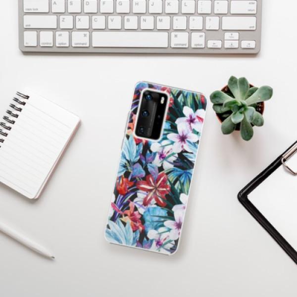 Plastové pouzdro iSaprio - Tropical Flowers 05 - Huawei P40 Pro