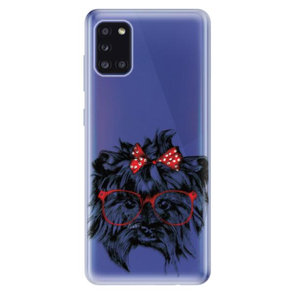 Odolné silikonové pouzdro iSaprio - Dog 03 - Samsung Galaxy A31