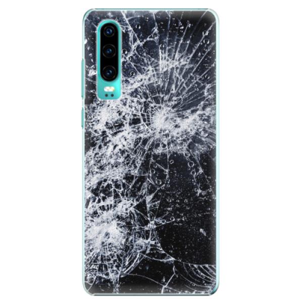 Plastové pouzdro iSaprio - Cracked - Huawei P30