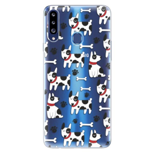 Odolné silikonové pouzdro iSaprio - Dog 02 - Samsung Galaxy A20s