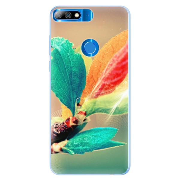 Silikonové pouzdro iSaprio - Autumn 02 - Huawei Y7 Prime 2018