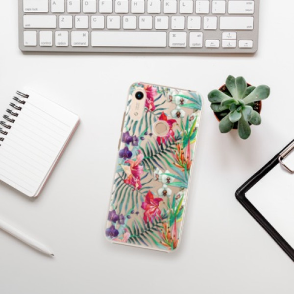Plastové pouzdro iSaprio - Flower Pattern 03 - Huawei Honor 8A