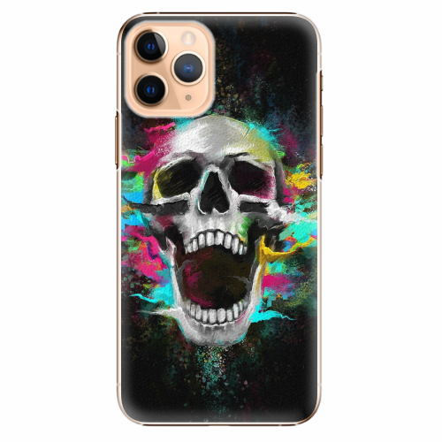Plastový kryt iSaprio - Skull in Colors - iPhone 11 Pro
